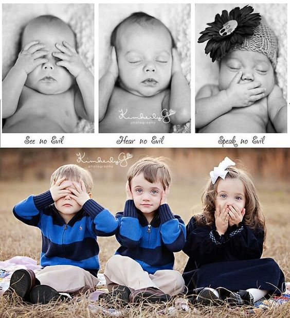 Too cute! You can tell I'm just a bit obsessed with triplets!