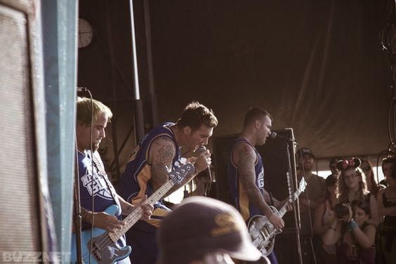 New Found Glory @ Vans Warped Tour 2012 Irvine , CA