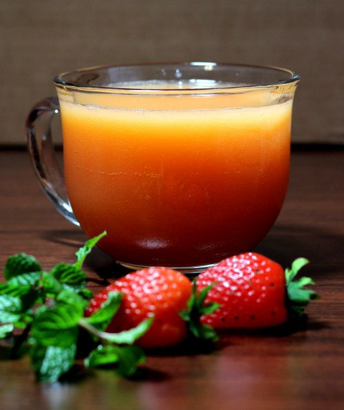 Fruit juice, Non alcoholic and Tropical on Pinterest