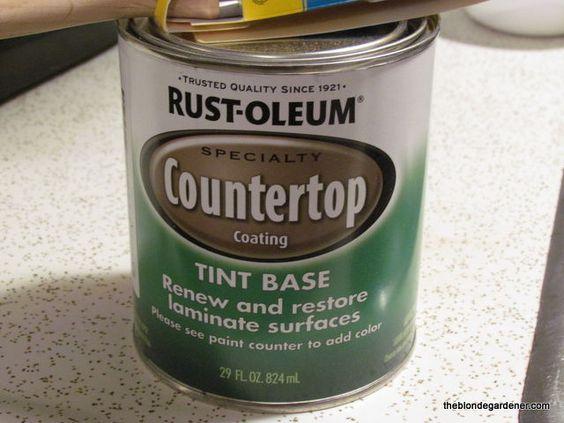 ... Countertop How to paint, Countertop paint and Rustoleum countertop
