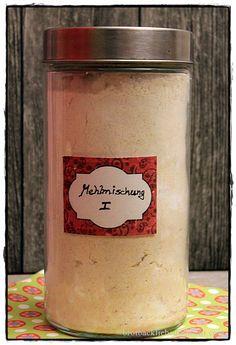 brotbackliebeundmehr - Foodblog - Glutenfreie Mehlmischung für helle Brote, Brötchen, Baguette, Pizza