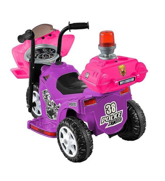 Little Girls Motorcycle Ride On Toys Electric Battery Powered Mini Bike For Kids #KidMotorz
