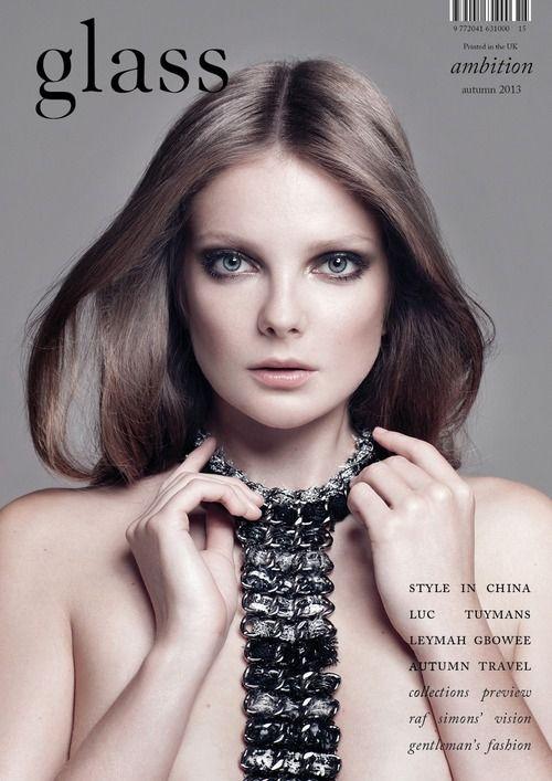 Eniko Mihalik by Bojana Tatarska for Glass Magazine #15, Fall 2013
