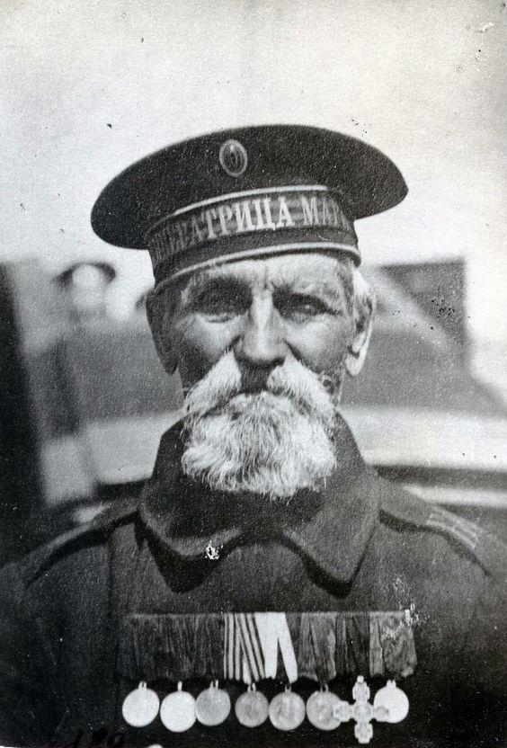 Старый моряк.