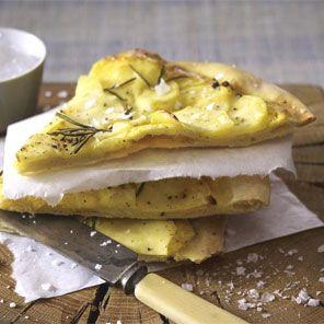 Kartoffel-Rosmarin-Pizza