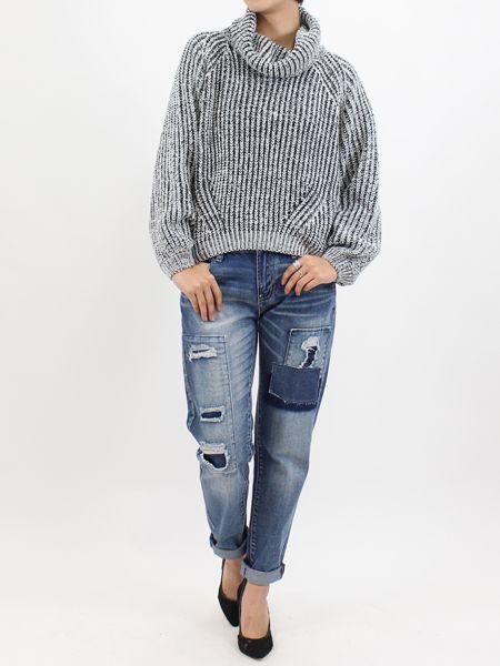 オフタートルニットトップス|NIZIIRO(ニジイロ) / NIZIIRO ONLINE STORE #ファッション  #レディース #fashion #knit