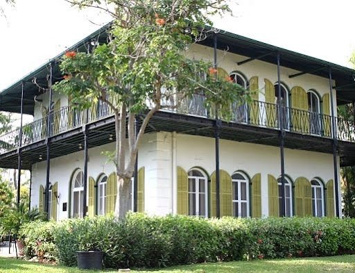 Hemingway house Key West Florida. Fabulous wraparound porches and openness to the outdoors.
