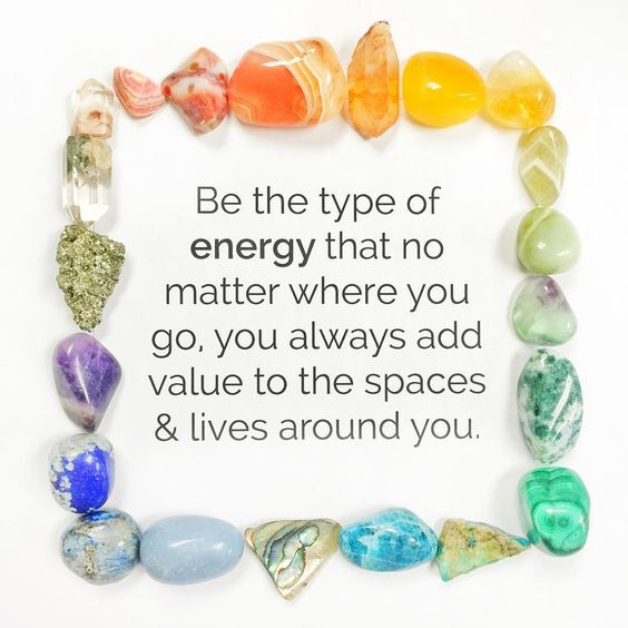 ✨Be the type of energy that no matter where you go, you always add value to the spaces & lives around you.✨:
