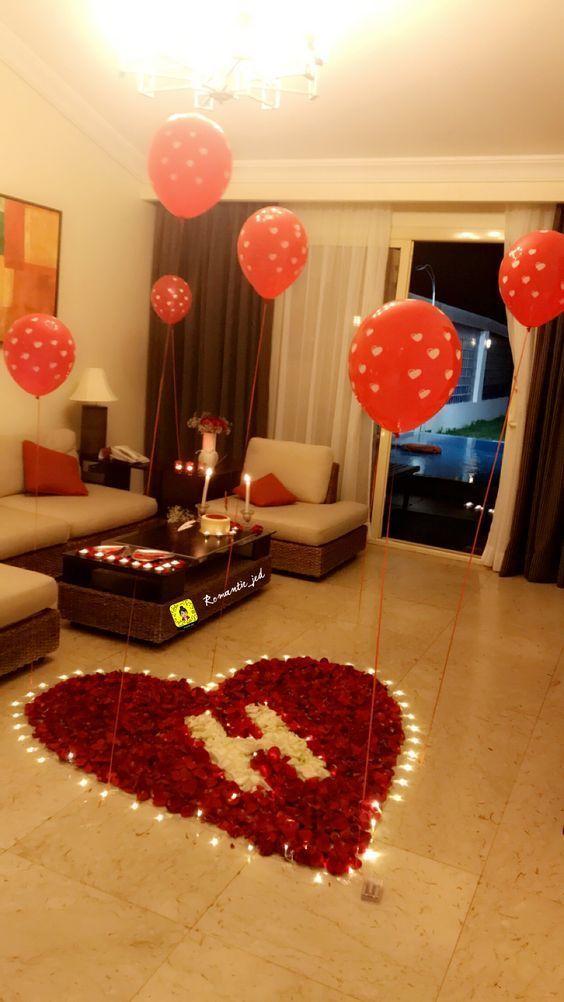 200 Happy Birthday Wishes For Boyfriend Romantic Surprise Romantic Dinner Decoration Romantic Room Surprise