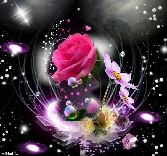 Romancing the Rose...By Artist Unknown...@;}~: