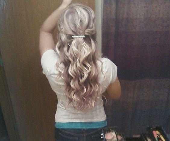 curly hairstyles: Curly Hairstyles, Curling Irons, Hair Hairstyles, Barrel Curlingirons, Hair Beauty, Wedding Hairs, Brooketaylor17 Hairstyles, Long Curly Hair, Iron Face