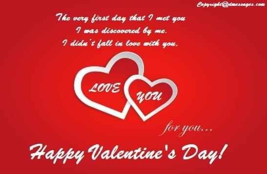 Valentines day quotes for him