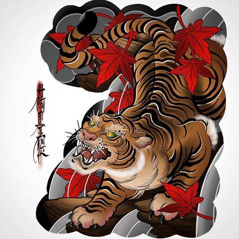 Good Morning Tatuagem De Tigre Tatuagens Interessantes Tatuagem Oriental