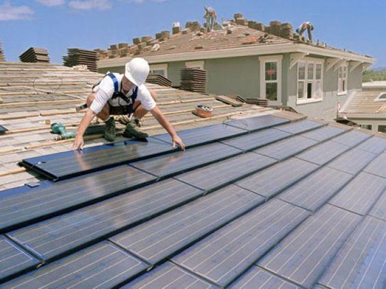 Photo Voltaic (PV) dakpannen en dakmodules met geintegreerde zonnecellen - De Groene Energie Maatschappij