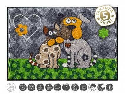 Tierische FußmattenDesigner Fußmatte: Beppo & Rufus