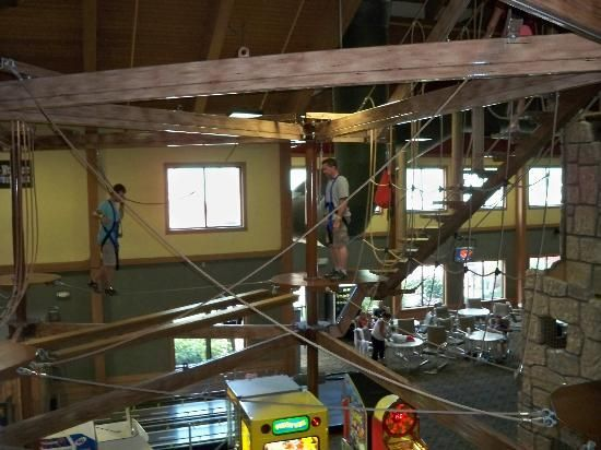 Wilderness Resort:                   Ropes course