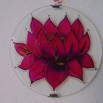 Mandala Flor De Lotus Mp 50 Laranja No Elo7 Bazar Patativa