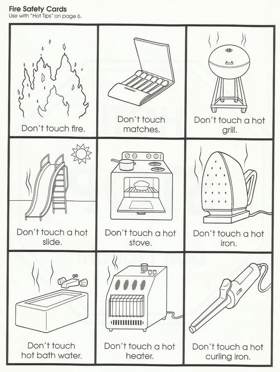 Squish Preschool Ideas Fire Safety Fire Safety – Fire Safety Worksheets for Kindergarten