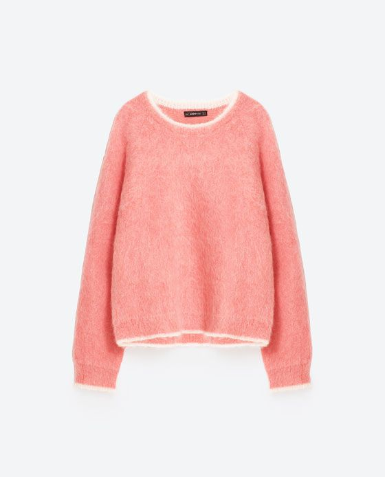 Image 8 of LIMITED EDITION MOHAIR SWEATER from Zara