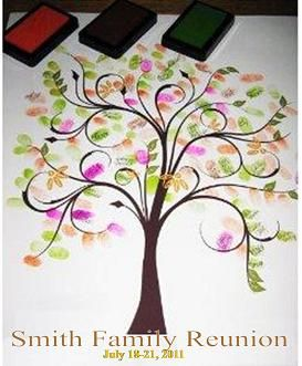create a fingerprint family tree AND/OR create a memory book, and other ideas. http://www.all-things-family-reunion.com/family-reunion-ideas.html: