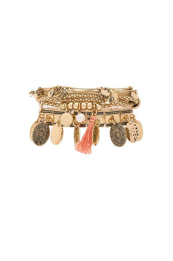 Samantha Wills Hunter & Gatherer Bracelet Set en Dorado | REVOLVE