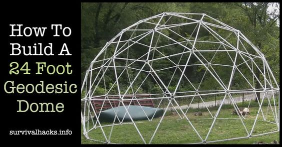 how to build a geodesic dome measurements