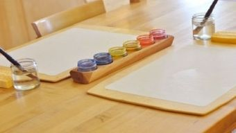 making a painting board