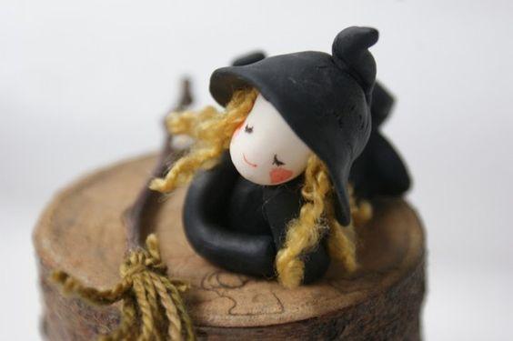 小さな小さな魔女ちゃん |ハンドメイド、手作り、手仕事品の通販・販売・購入ならCreema。