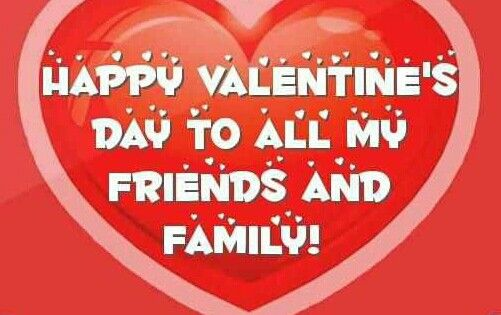 happy valentines day to all my friends and family xoxo 2014 happy valentinesday poms pinterest
