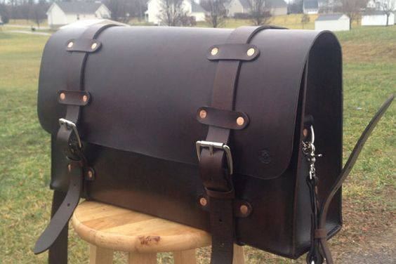 Custom Leather Weekend Bag by RMeAV8er000 on Etsy, $600.00