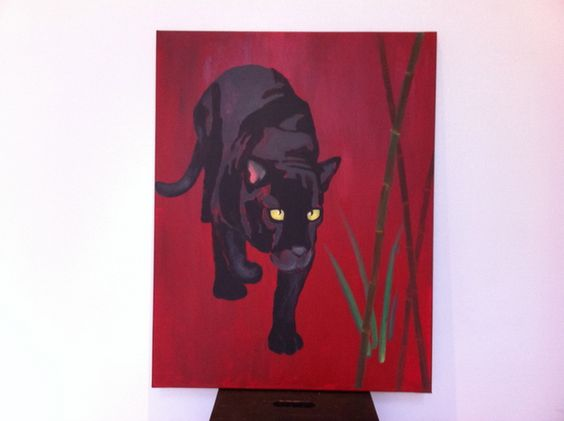 LARtistA- Der Panther (Invisible Bars)  via dawanda.de