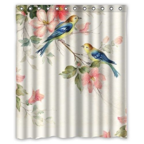 Hummingbird Watercolor Painting Shower Curtain 60x72 Inch In 2020