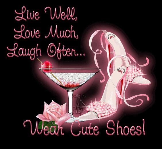 wear cute shoes