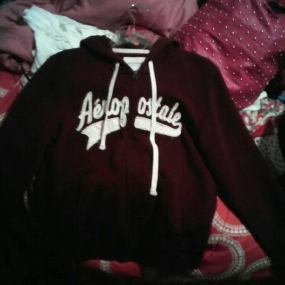 Aeropostale jacket and hood Never worn Aeropostale jacket with hood. Brand new condition, it wasn't the right size for me so I just never took it back. I'm really looking to sell ASAP so make me offers please Aeropostale Jackets & Coats