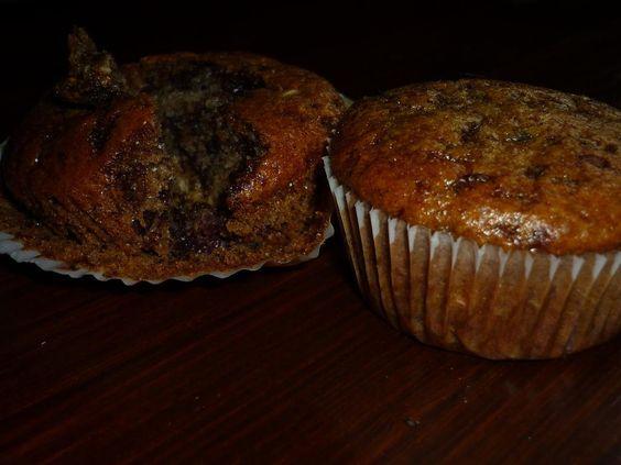 Vegane Muffins: Erdnussbutter-Kirsche-Schokolade - GEIL!