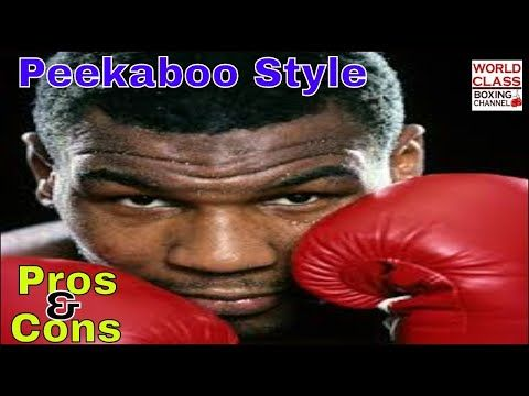 Mike Tyson Peekaboo Boxing Style The Pros And Cons Youtube Mike Tyson Punch In The Face Tyson