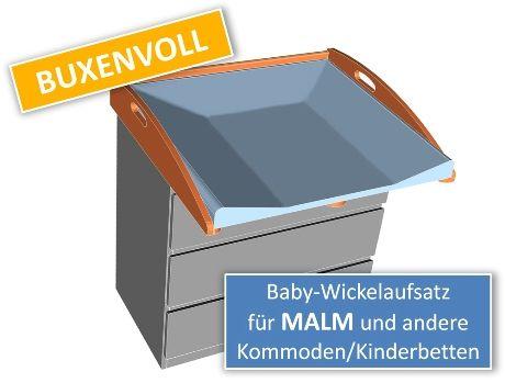 buxenvoll_wickelaufsatz_auf_malm_kommode http://blog.kullaloo.de ...
