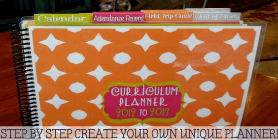 Really cool homeschool curriculum planner by Tina's Dynamic Homeschool Plus.