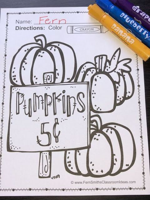 Seasonal Color For Fun Printables Freebies Halloween Coloring Book Halloween Coloring Pages Halloween Coloring