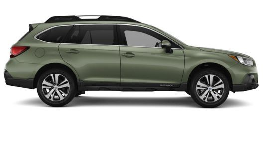 Exterior View Of 2019 Subaru Outback In Wilderness Green Metallic Subaru Outback Subaru Outback