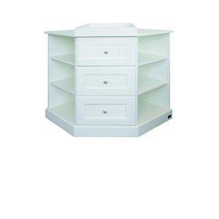 A corner changing table makes more sense. Kub Floresta Corner Changer - Bambino Direct