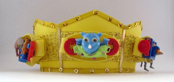 """Galerie Objet Rare -"""" BIJOU JOUJOU"""", 9 JANVIER 2014 de 18h à 21h - Marie-José MORATO présente la collection de «  têtes couronnées » inspirées de couronnes historiques. »:"""