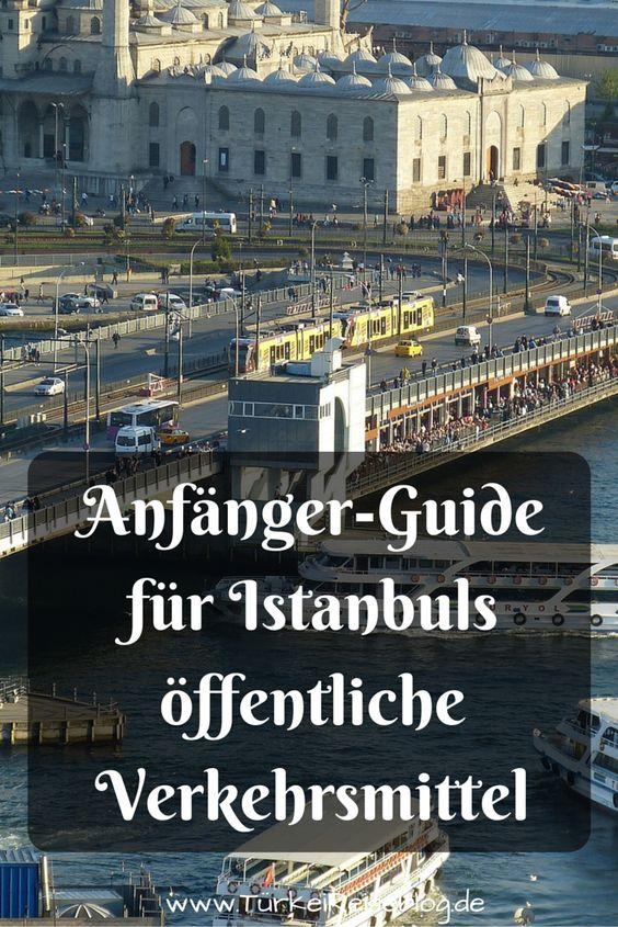 Anfänger-Guide für Istanbuls öffentliche Verkehrsmittel. U-Bahn, Metro, S-Bahn, Bus, Fähren, Taxi, Dolmus. Tipps wie du dich im öffentlichen Verkehrs der 15 Millionen Einwohner Metropole zurecht findest! http://www.tuerkeireiseblog.de/oeffentliche-verkehrsmittel-istanbul/
