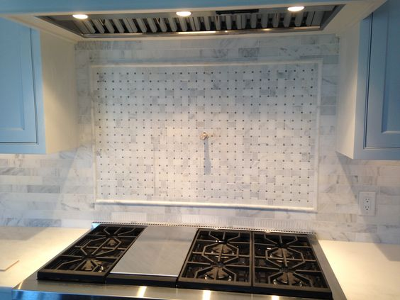 Marbles backsplash ideas and carrara marble on pinterest Italian marble backsplash