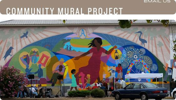 Murals on pinterest for A perfect day mural