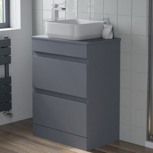Details About 600mm Bathroom Vanity Unit Floor Standing Countertop