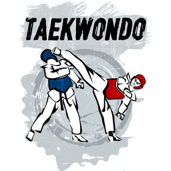 Taekwondo Head Kick Cartoon T Shirt By ValCiglione Design By Humans