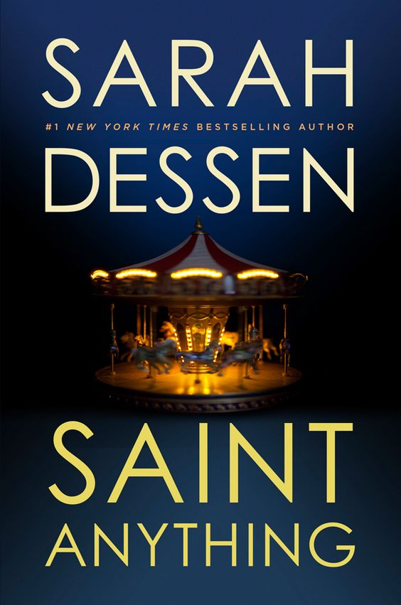 Sarah Dessen's 12th novel, Saint Anything, hits shelves in May, and EW has an exclusive first look at the cover: http://shelf-life.ew.com/2014/10/30/sarah-dessen-saint-anything-cover-exclusive/