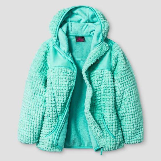 Girls' Rbx Monkey Fleece Jacket with Hood