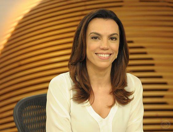"""Canadauence TV: Ana Paula Araújo completa 20 anos de Globo,""""Não ac..."""